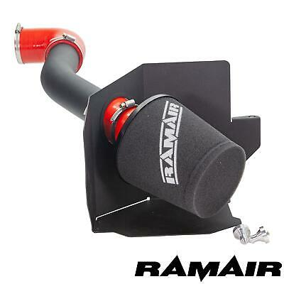 Red - Ramair Air Filter Induction Intake Kit for Ford Fiesta mk8 1.0 Ecoboost