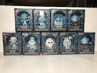 Funko Minis Lot Of 9 Disney Haunted Mansion Box Lunch / Target Exclusives