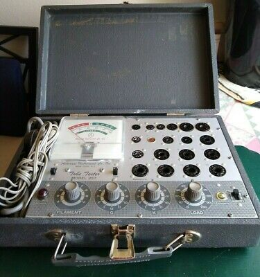 Vintage Accurate Instrument Co. Model 257 Tube Tester NO users manual! Powers on