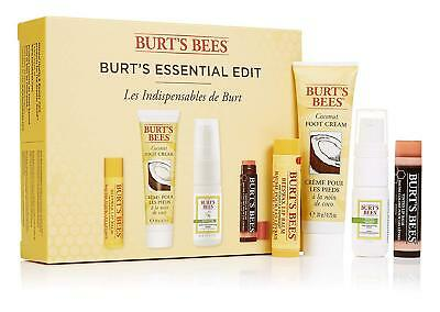 Burt's Bees ESSENTIAL EDIT Gift Box: 4 Natural Bath & Body Products Burts Bees
