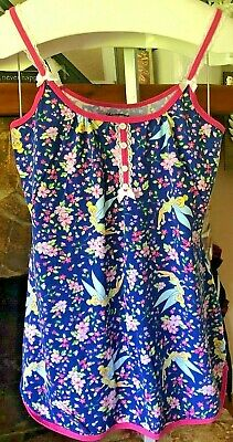 Ladies DISNEY TINKERBELL Women's Girls Nightdress Nightie Pajama Navy/Pink JJ123