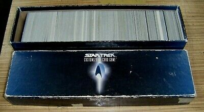 Star Trek Next generation Card Game - Bulk Lot of cards