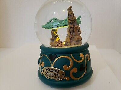 Disney Parks 20,000 Leagues Under the Sea Light Up Snow Globe Snowglobe