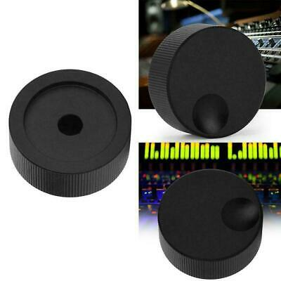 Volume Control Black Frosted Solid Plastic Knob For 6mm Potentiometer