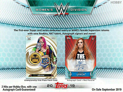 Topps 2019 WWE Womens Division 10ct Retail Blaster Box Trading Cards