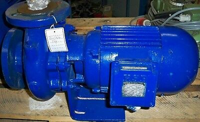 Ksb Centrifugal Pump Etabloc Type 50-120/302 70 Qm / H Pump 380V