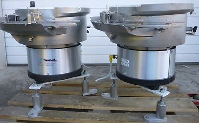 Shake Pot Stainless Bowl Feeder Conveyor Linear Guide Brovind 0B-500