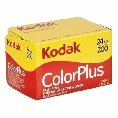 Kodak Color plus VR200 36exp 35mm (10 roll pack)