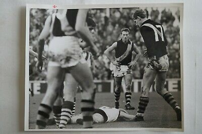 Richmond Tigers AFL VFL Vintage B&W 10 x 8 Finals Photograph Kevin Bartlett