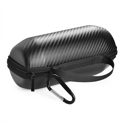 For JBL Flip 5 Wireless Speaker Carbon fiber Zipper Storage Bag Carrying Case