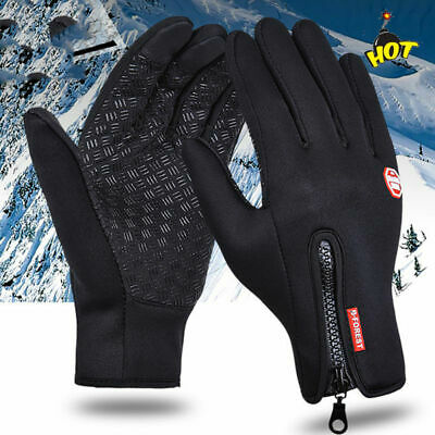 Unisex Winter Windproof Insulated Gloves Outdoor Warm Thermal Riding Mittens
