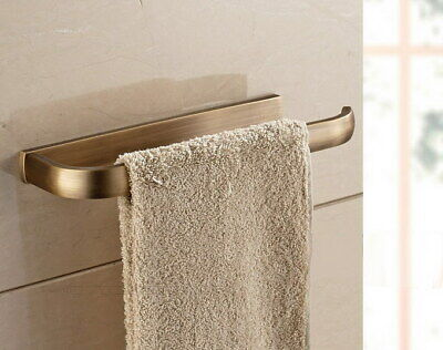 Antique Brass Square Wall Mounted Bathroom Towel Ring Holder Bba178