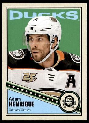 2019-20 UD OPC O-Pee-Chee Retro Base #10 Adam Henrique - Anaheim Ducks