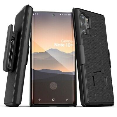For Samsung Galaxy Note 10/10 Plus Belt Case w/ Kickstand Cover Holster Clip New