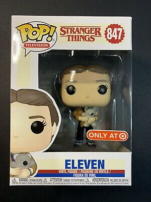 Funko Pop! Stranger Things Eleven With Bear (Target Exclusive) #847 🧸