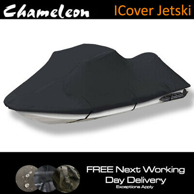 Jet-Ski Protective Heavy Duty Outdoor Waterproof Cover + Strap + Elastic Hem