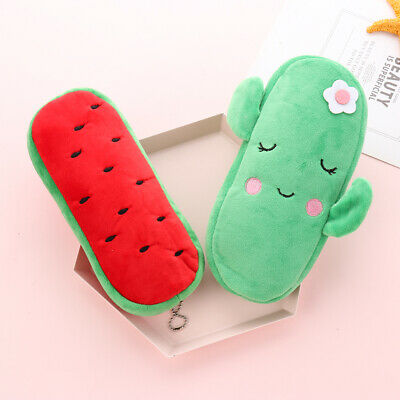 Watermelon Fruits Series Plush Coin Purses For Women Girls Wallet Coin Pouch