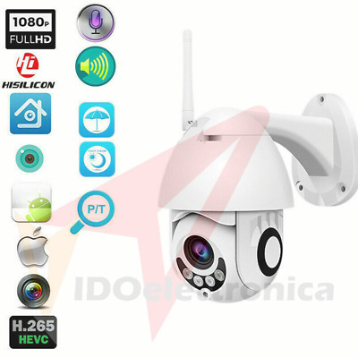 Telecamera Ip Cam Ptz Wifi Camera Dome Wireless Esterno Speed Zoom Micro Sd 4Mm