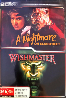 A Nightmare on Elm Street & Wishmaster - 2 DVD Set - Free AusPost