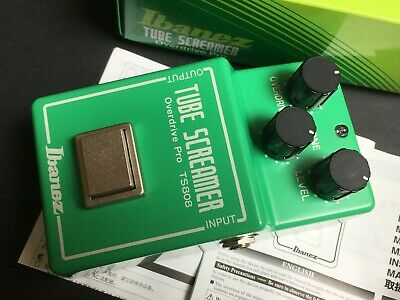 Ibanez Tube Screamer Overdrive Pro TS-808 Effects Pedal Reissue