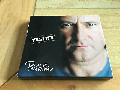 (CD) Phil Collins - Testify - Wake Up Call - Special Edition, CD-Box