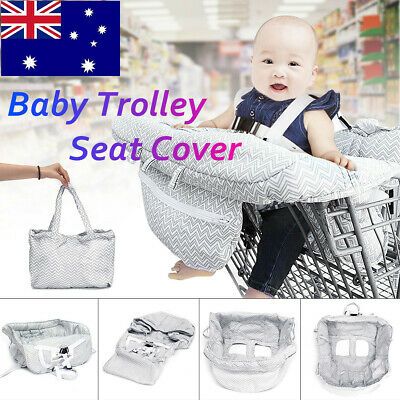 Baby Shopping Supermarket Trolley Cart Cover Seat Child High Chair Protector