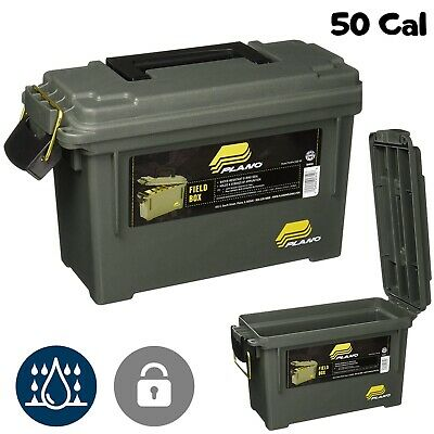 Ammo Box Military Can 50 Caliber Army Storage