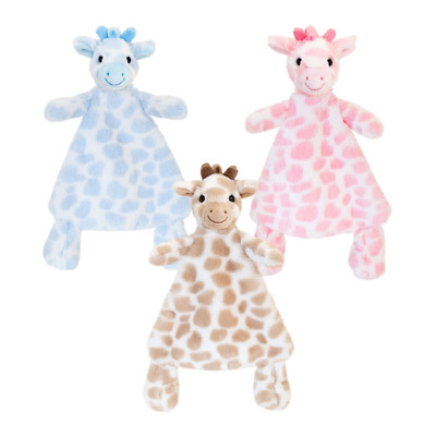 Keel Toys Baby Girls Boys Giraffe Super Soft Toy Comforter Snuggle Soother 25 cm