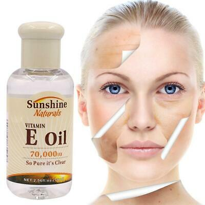 100% Natural Vitamin E Pure Jojoba Anti Aging Oil Organic Hair Essence Oil