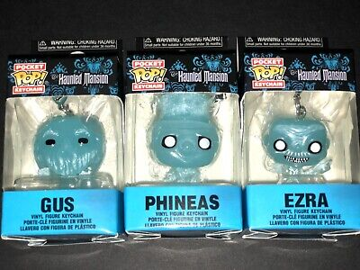 Pocket Pop! Haunted Mansion Keychain Characters