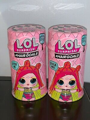 Lot Of 2 LOL Surprise HairGoals Wave 2 Series 5 Makeover # Hairgoals Auth 1 Doll