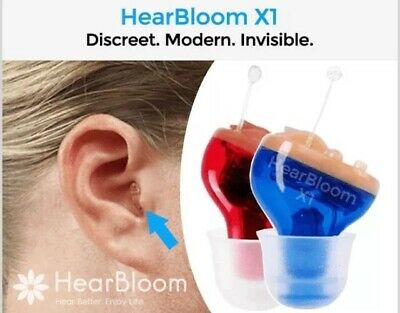 HearBloom X1 Invisible Hearing Aid (pair)