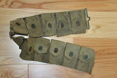 M1923 Cartridge Belt, M1 Garand, USMC owned, Test Pilot