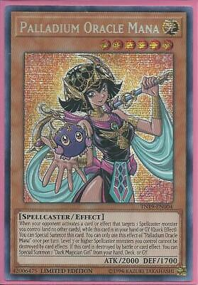 Yugioh TN19-EN004 Palladium Oracle Mana Prismatic Secret Rare Near Mint Limited