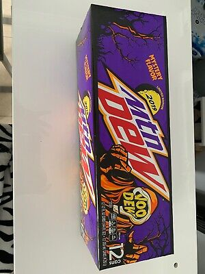 1x 12oz 12pk Mountain Dew Voodew In Hand Voodoo Limited Edition Immediate Ship!