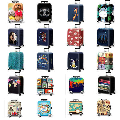 "18"" -32"" Thicker Travel Luggage Cover Suitcase Protector Cute Dust Case Bag"