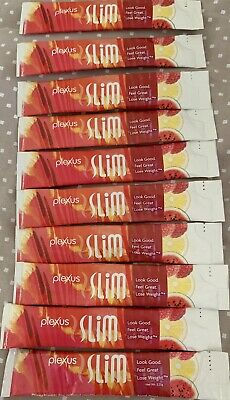 Plexus Slim Pink Drink 10 Individual Packets- Brand New. FREE SHIPPING