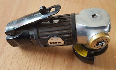 Angle Grinder Tools Pneumatic Body Metal Rodac RC272 50 mm #