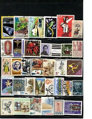 Worldwide Foreign Stamp Lot Collection WW Receive all stamps shown in scan AA-05