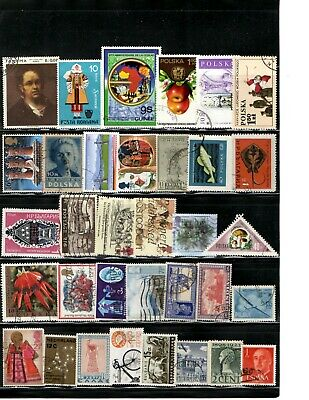 Worldwide Foreign Stamp Lot Collection WW Receive all stamps shown in scan AA-06