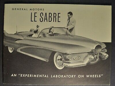 1952 Buick Concept Car XP-300 AC Spark Plug AD Experimental Dream