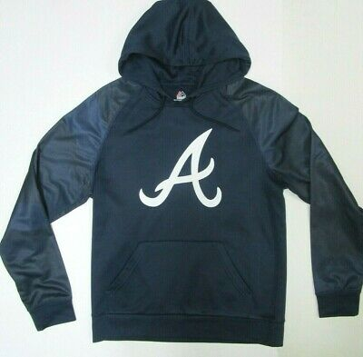 best cheap 2aaad 1ed1d ATLANTA BRAVES NEW Team Mlb Hoodie Majestic Size Medium Or ...