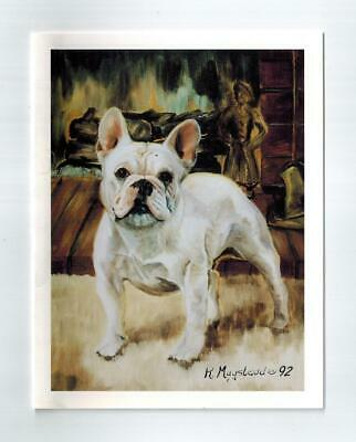 French Bulldog Magnetic Refrigerator List Pad Set 2 Pads by Ruth Maystead FRB-2
