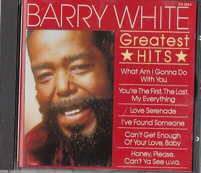 Cd - Barry White - Greatest Hits #A64#