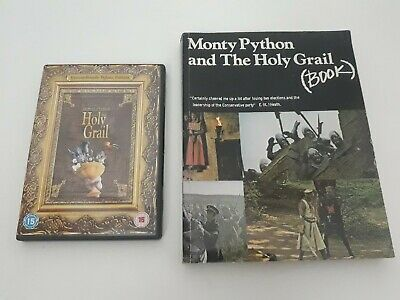 Monty python and the holy grail BOOK and DVD