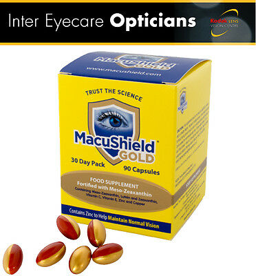 **MacuShield GOLD Eye Supplement 30 DAY SUPPLY (1 MONTH)!**