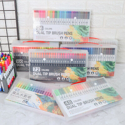 Drawing Calligraphy Marker Pen Set Double-Headed Pen Soft Brush Pen Art Markers