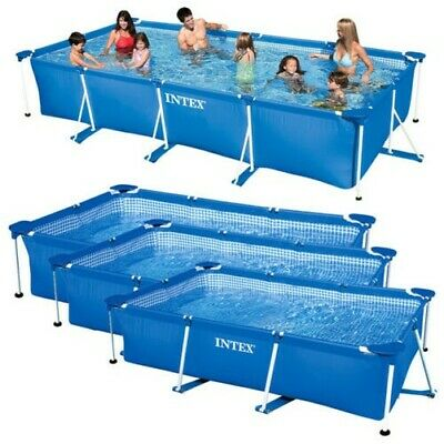 Intex Family Piscina Marco Rectángulo Piscina Piscina