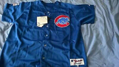 MENS REPLICA CHICAGO CUBS BASEBALL JERSEY SHIRT BYRD 24 - UK Size chest 48 / 50