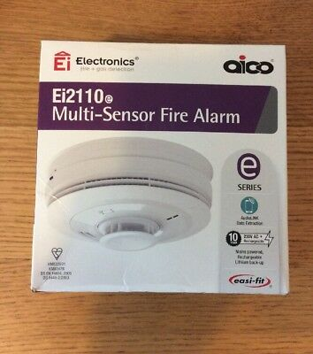AICO Ei2110e Multi Sensor Fire Alarm New Date 2029 Special Offer